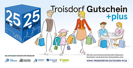Troisdorf Gutschein +plus